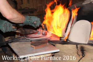 Villa Borg 2016 - Working at the Furnace